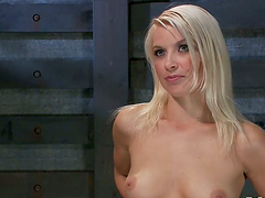 Anikka Albrite gets tortured on a..