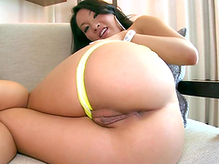 Asa Akira & some other whore riding some guy
