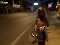 Teasing Video of A Hot Blonde Showing..
