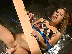 Kat gets her snatch slammed with a..