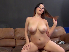 Slut with hot big ass and arousing big..