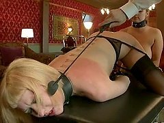 Submissive Cherry Torn gets tortured..
