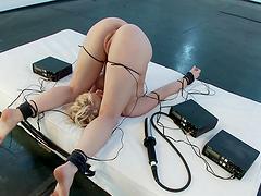 Electro sluts gettin' kinky with..