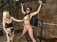 Sybian Ride in Bondage Session for..