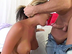 Sophia Gentley gets face-fucked and..