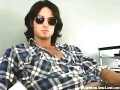 This hot Jim Morrison lookalike will..