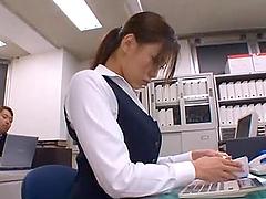Office Slut Gets Fucking Fucked Big Time