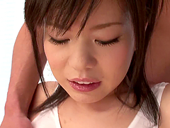 Oiled up Aika Suzuki gets fucked..