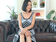 Hot Japanese Milf Gets A Toy Up Her..