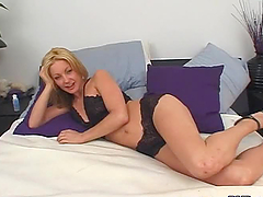 Passionate Kelly Jensen gives great POV blowjob