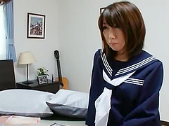 Exotic & Beautiful Japanese Cutie Gets Cum In Mouth After Fuck'd