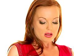 Redhead Silvia Saint Masturbating.