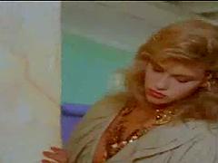 Vintage blonde Christina Leardini..