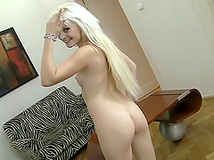 Fucking A Beautiful Blonde With Small..