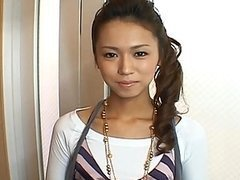 Misato Kanzaki Pretty Asian gal sucks..