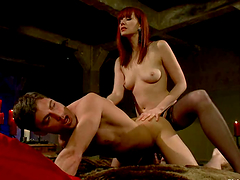 Cock Riding and Pegging Action in..
