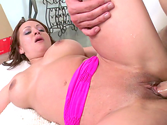 MILF with big tits and big ass enjoys hardcore sex