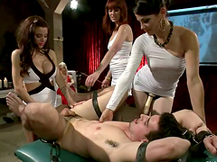 Reverse Gangbang with Pegging..