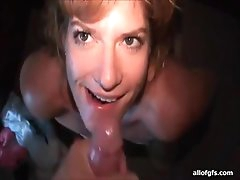 Facial cumshot compilation with his..