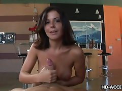 Horny Penny Flame gives an amzing hand..