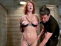 Audrey Hollander gets her holes toyed..