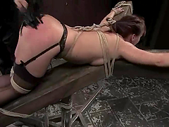 Katja Kassin enjoys being spanked and..