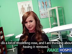 FakeHospital Teen model cums for..