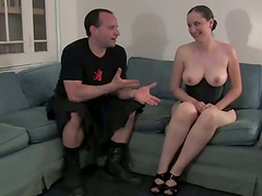Bosomy mom Lady Kat gets her vag..