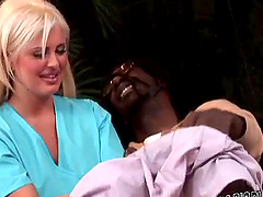 Busty Andie Anderson gets rammed by a..