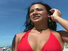 Hot Brazilian  free porn with a sexy..