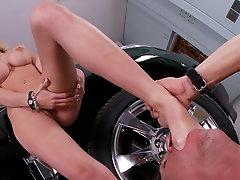 Jessi Marie in amazing foot scene