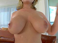 Big tittied Velicity Von fucks on a..