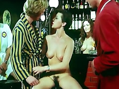 Sensual retro clip woth short-haired..