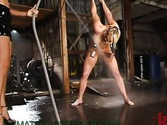 Wet Femdom Fun For A Smoking Hot Blonde