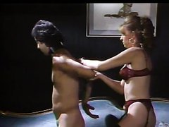 Femdom Action With The Hot Lingerie Wearing Sharon Mitchell