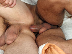 Hot Gay Bareback with Cum In Ass
