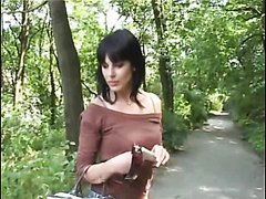 Hot Euro Amateur Brunette Sucking and..