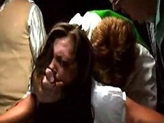 Sexy Brunette Celeb Candice Lewald Fucked in a Violent Sex Scene