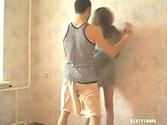 Teen Russian Chick Forced to Fuck