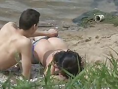 Horny Couple Caught By Voyeur Cam..
