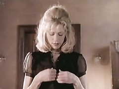 Sexy Blonde Babe Elina Madison Strips..