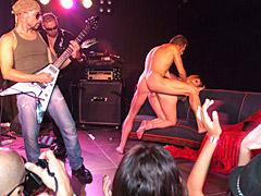 Public sex at rock show
