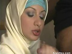 Incredibly Hot Arab Slut Shows Her..