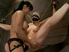 BDSM Vid with Strapon Sex for Lorelei..
