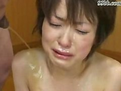 Japanese Maid Humiliated And Pissed