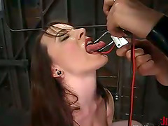 Dana Dearmond gets chained and enjoys..