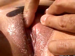Outdoors Pussy Eating and Fucking for..