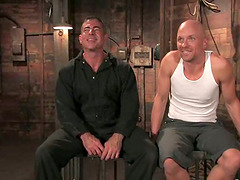 Wild Bondage and Domination in BDSM with Ass Fucking