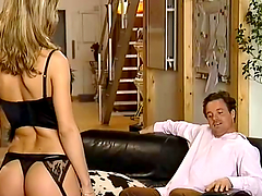 Rough anal sex with a sexy blonde..