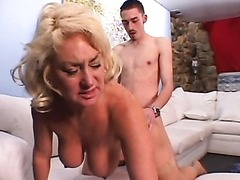 Hot Mature Blonde Gets Fucked By A..
